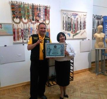 В Івано-Франківському Краєзнавчому музеї встановили рекорд по кількості ґерданів