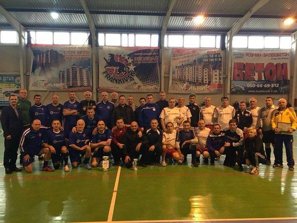 Ветерани ФК «Прикарпаття» - переможець турніру до Дня народження Степана Бандери