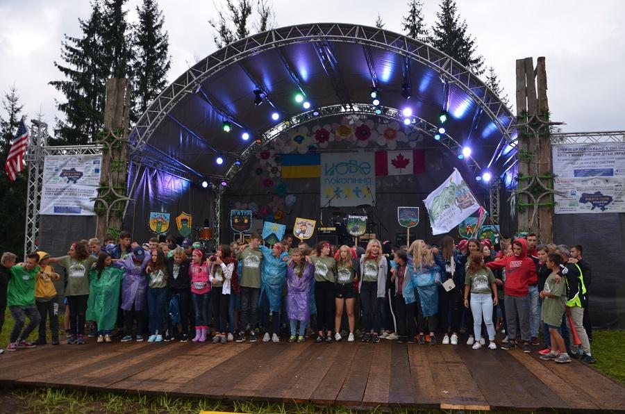 Понад сотню дітей з різних куточків України відпочивають у Ворохті (відеосюжет)