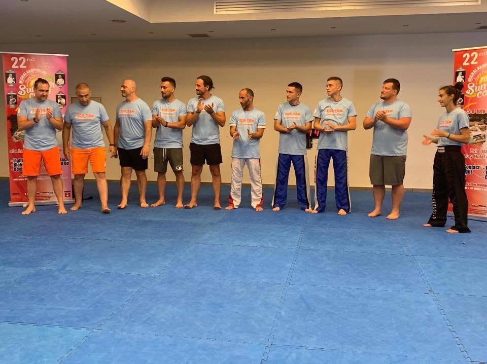 Таеквондисти з Франківська провели тренування в міжнародному таборі у Греції