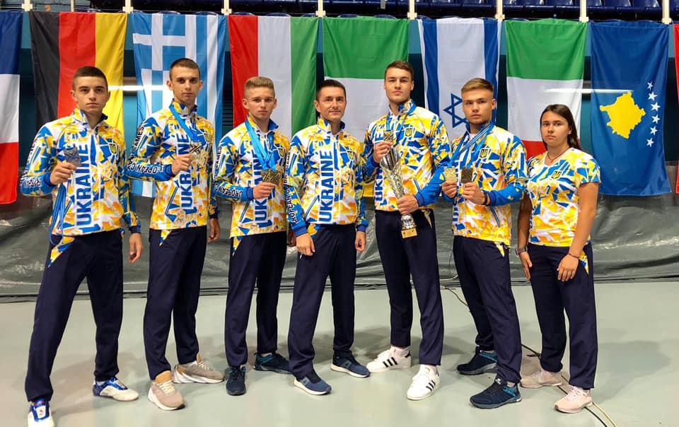 Прикарпатські спортсмени відзначилися на змаганнях в Хорватії