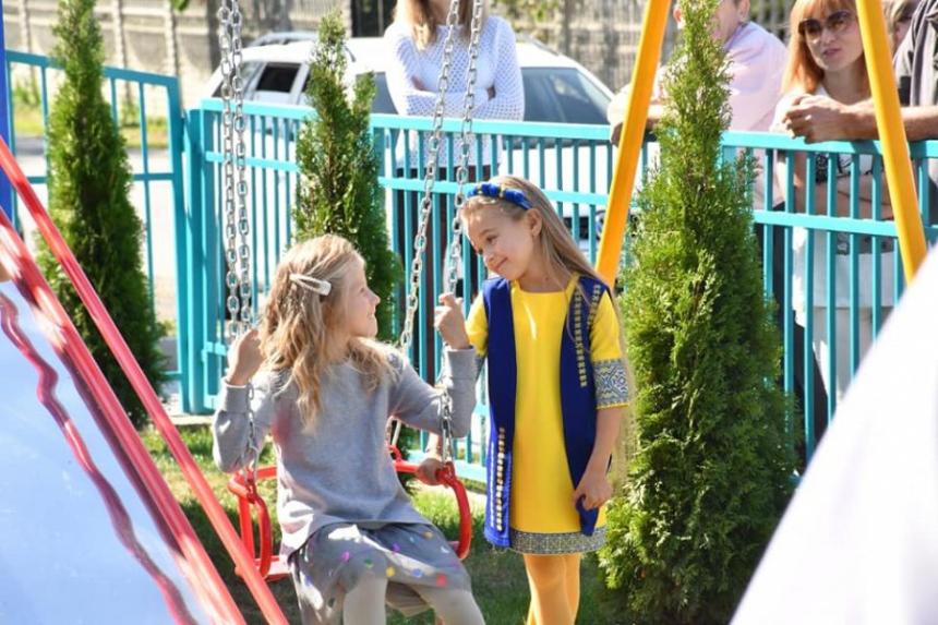 На Прикарпатті урочисто відкрили ще один дитячий садок (фоторепортаж)