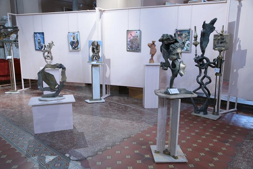 У Франківську відбулася виставка скульптора Бориса Гуцуляка, фото-2
