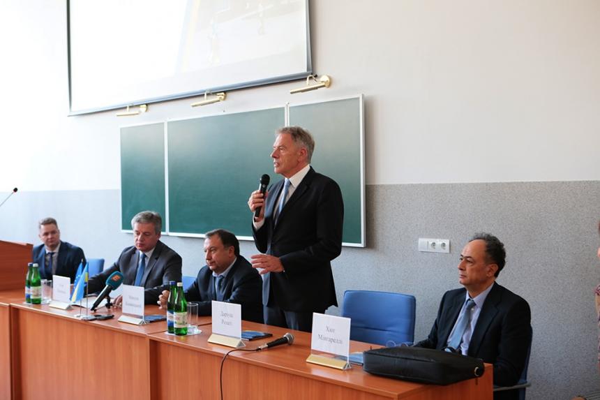 Студенти ПНУ зустрілися з європейськими парламентарями (фоторепортаж)