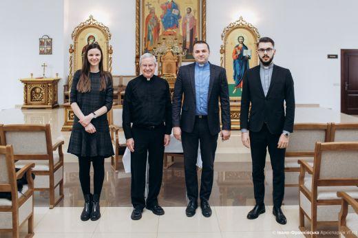 Протосинкел Чиказької єпархії відвідав Івано-Франківськ