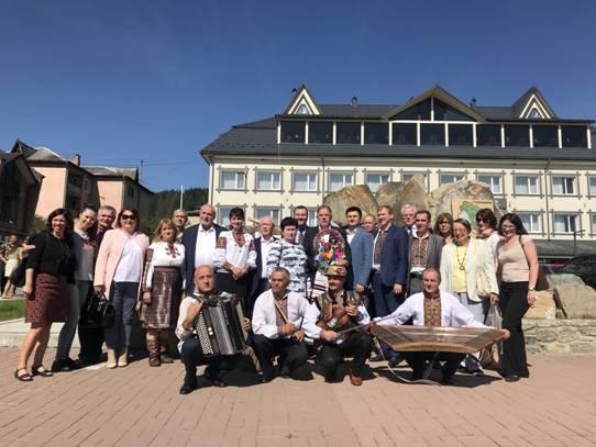 Верховинщину відвідала делегація Європарламенту